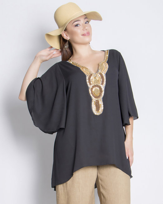Very chic blouses plus size