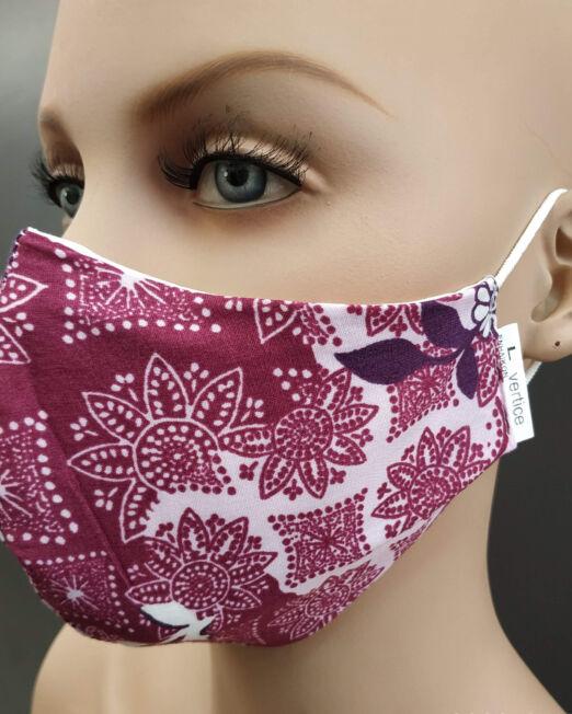 Μάσκες παιδικές υφασμάτινες εμπριμέ