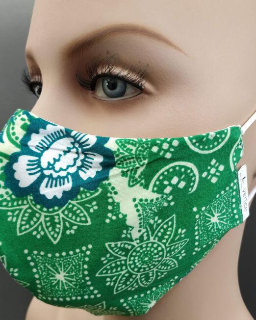 Μάσκες παιδικές ενηλίκων υφασμάτινες